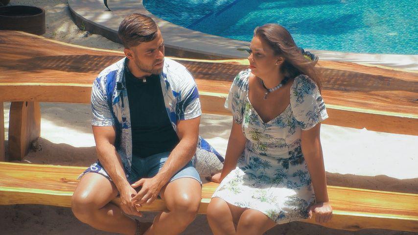 "Andreas Ongemach und Ernestine Palmert bei ""Bachelor in Paradise"""