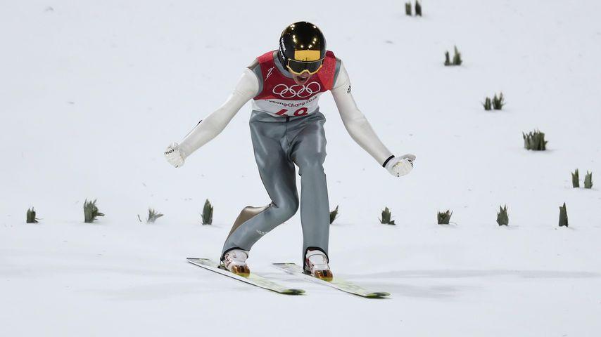Andreas Wellinger bei den Olympischen Winterspielen 2018
