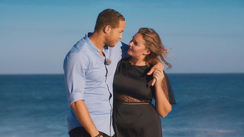Andrej Mangold und Ernestine Palmert am Strand