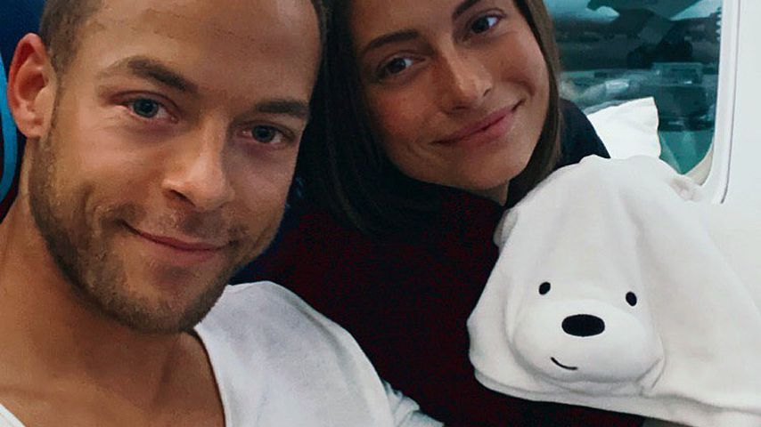 Andrej Mangold und Jennifer Lange im November 2019