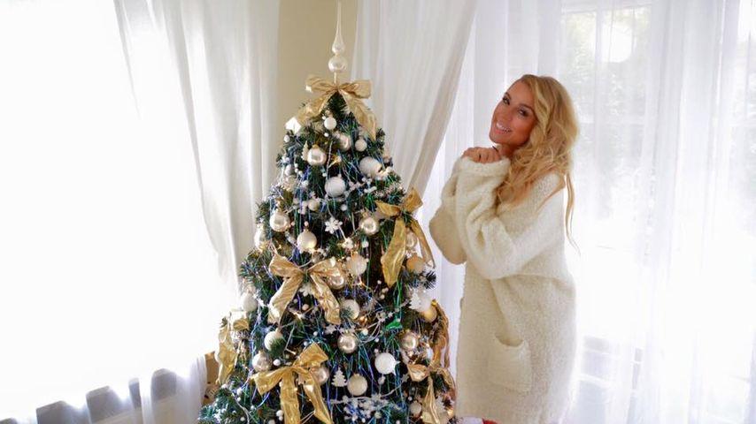 Weihnachts-Fan Aneta Sablik: Sie hat jetzt schon ihren Baum!