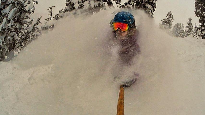 Unverletzt! Profi-Skifahrerin (25) überlebt 300-Meter-Sturz