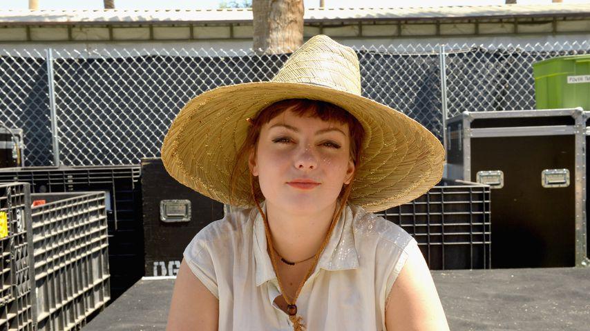 Angel Olsen beim Coachella Festival, 2015