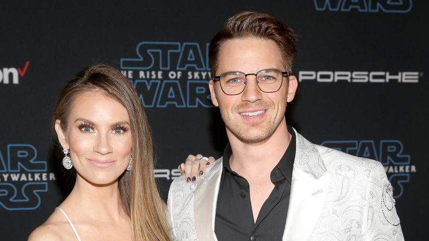 """Angela und Matt Lanter bei der """"Star Wars: Aufstieg Skywalkers""""-Premiere"""