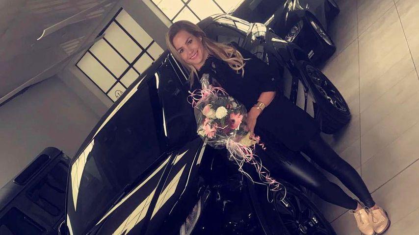 Sauteure Protz-Karre: Angelina Heger fährt jetzt Range Rover