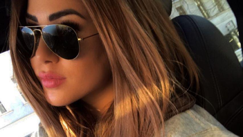 Brownie statt Blondie: Angelina Heger hat die Haare dunkler!