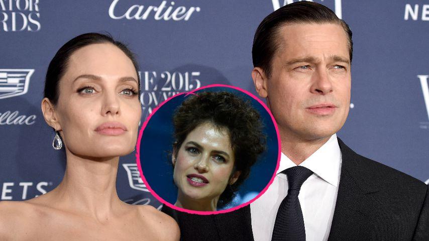 Wegen Angelina: Anwälte raten Brad von neuer Freundin ab!
