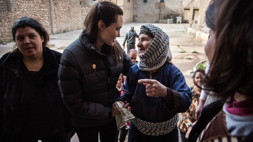 Flüchtlingsdrama: Angelina Jolie besucht den Irak