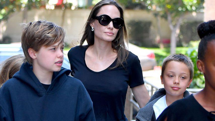 Abgemagert: Setzt Angelina Jolie der Scheidungskrieg zu?