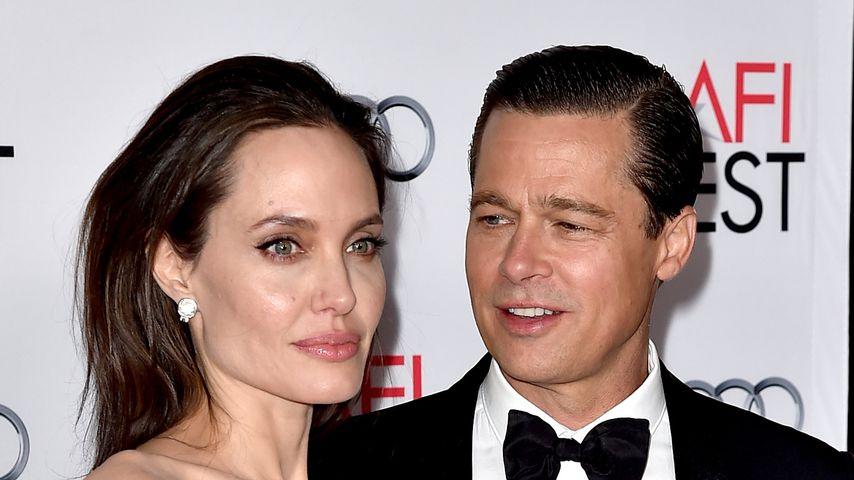 Wegen neuer Flamme: Angelina Jolie ist sauer auf Brad Pitt