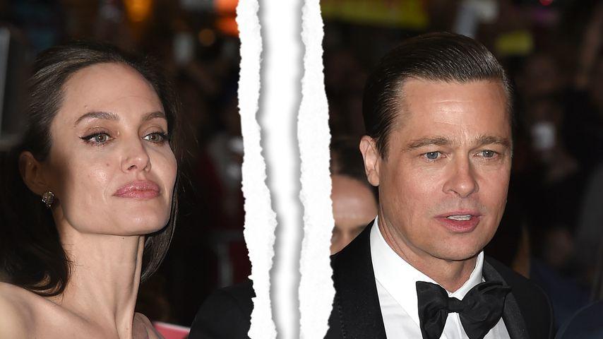 Brad Pitt und Angelina Jolie sind rechtlich wieder Singles!