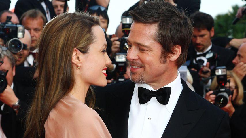 """Angelina Jolie und Brad Pitt bei der Premiere von """"Inglourious Basterds"""" in Cannes"""