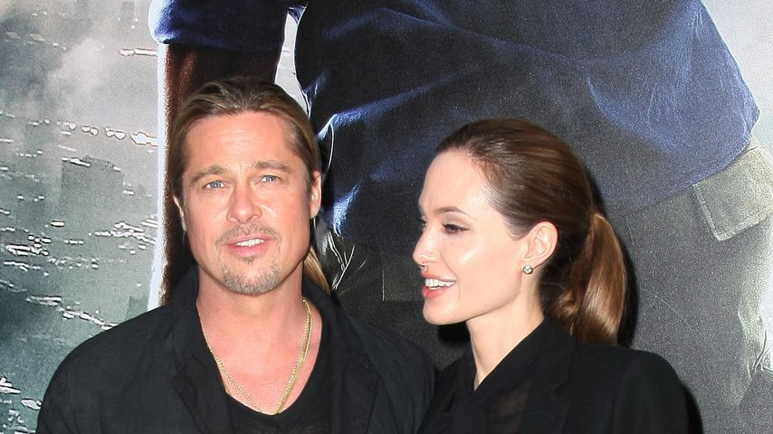 """Brad Pitt und Angelina Jolie bei """"World War Z""""-Premiere"""