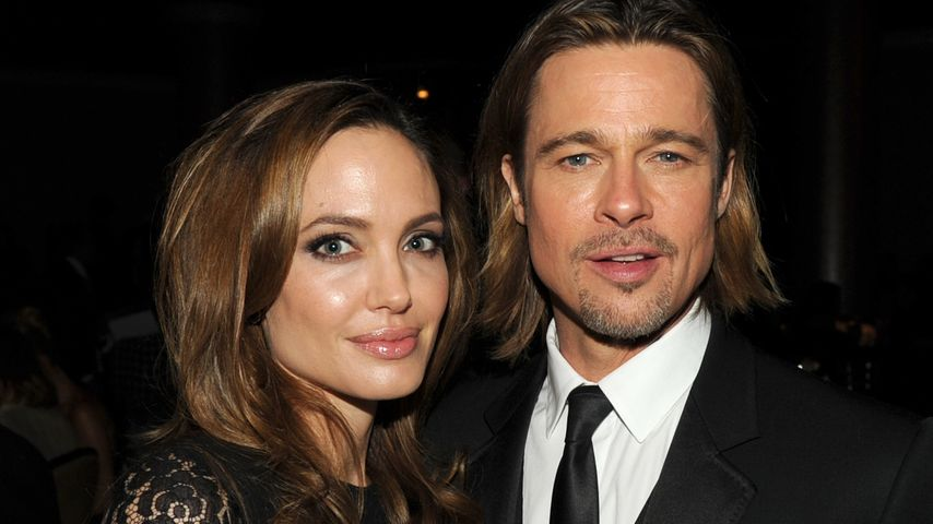 Angelina Jolie und Brad Pitt bei den Producer Guild Awards in Beverly Hills im Januar 2012