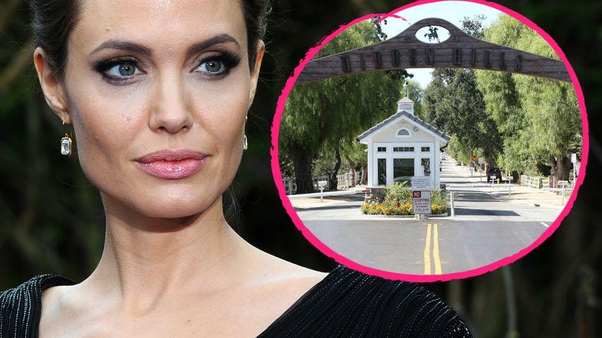 In den Hidden Hills: Hier verschanzt sich Angelina Jolie!