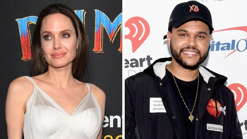 Angelina Jolie und The Weeknd wieder gemeinsam unterwegs