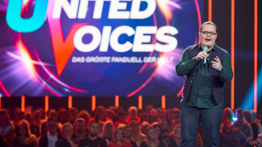 """Angelo Kelly bei """"United Voices – Das größte Fanduell der Welt"""""""