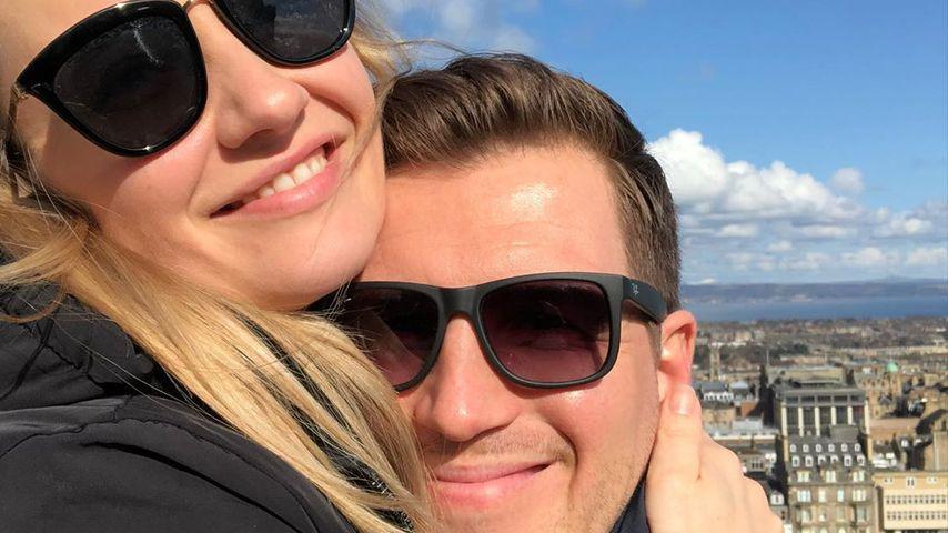 """""""Alles was zählt""""-Star Ania Niedieck und ihr Mann Chris"""