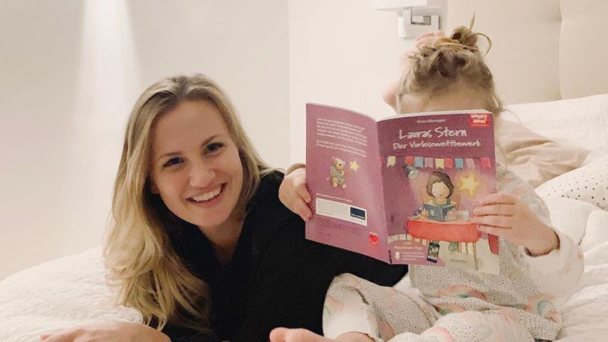Ania Niedieck mit ihrer Tochter Charlotte