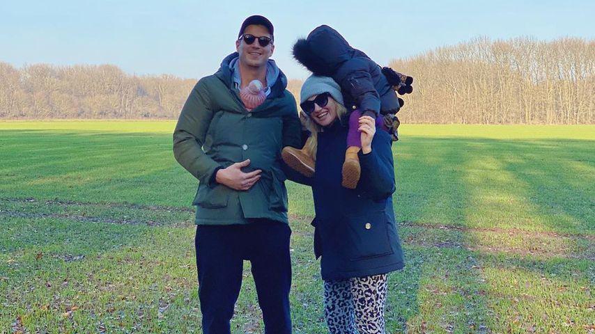 Ania Niedieck und ihre Familie im Januar 2020
