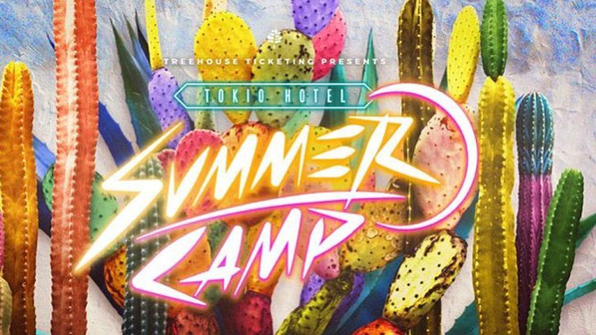 Ankündigung des großen Tokio Hotel-Sommercamps