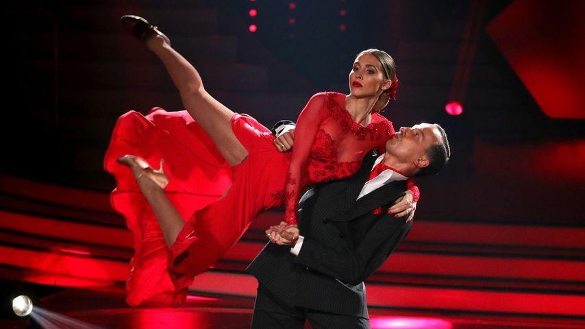 "Ann-Kathrin Brömmel und Sergiu Luca, ""Let's Dance"" 2017"