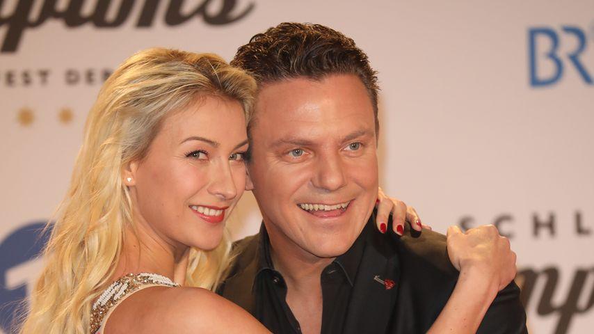 Nach Verlobung: Stefan Mross und Anna turteln auf Red Carpet