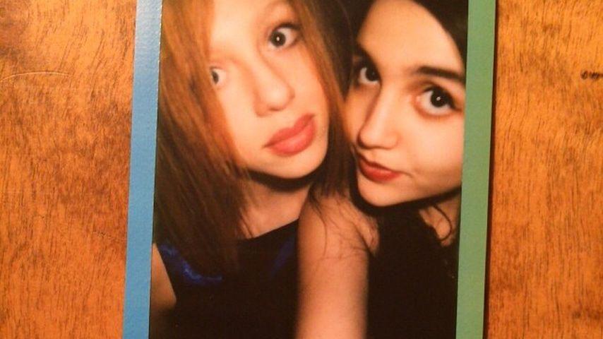 Anna Ermakova (links) mit einer Freundin