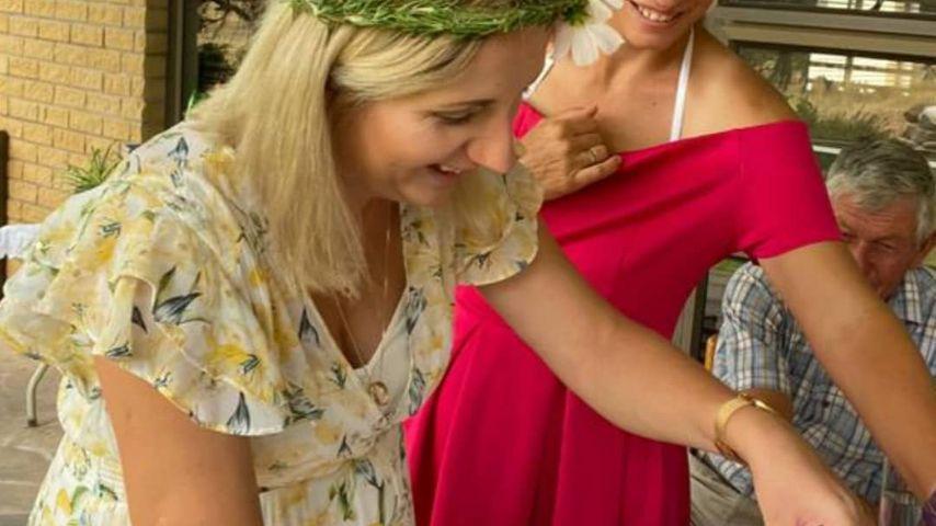 Anna Heiser bei ihrer Babyshower im November 2020