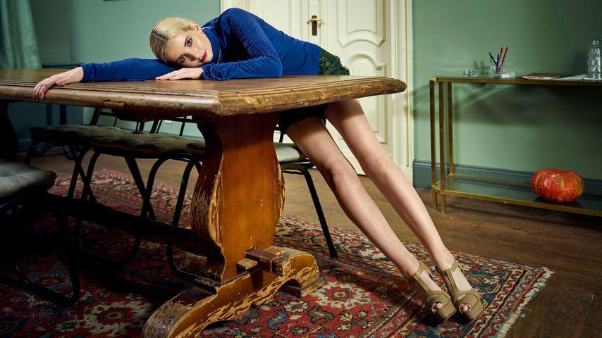 Model Anna Hiltrop für LANA MUELLER