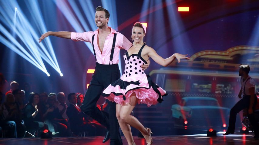 "Marvin Albrecht und Anna Hofbauer bei ""Stepping Out"""