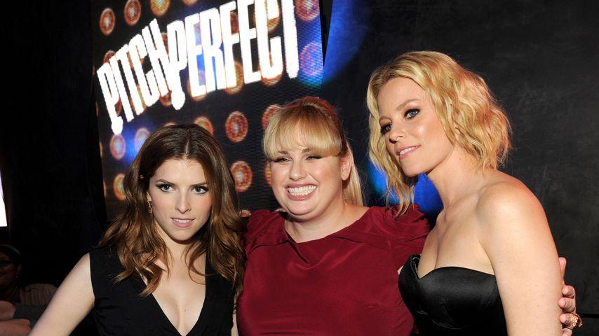 """Anna Kendrick, Rebel Wilson und Elizabeth Banks bei einer """"Pitch Perfect""""-Afterparty"""