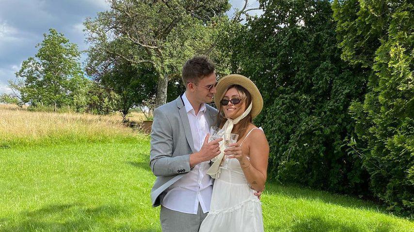 Anna Maria Damm und ihr Freund Julian Gutjahr, 2021