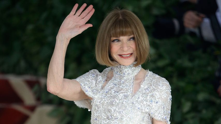 "Anna Wintour bei der ""Met Gala"" in New York, 2018"
