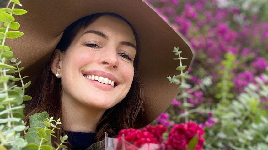 Anne Hathaway im Oktober 2020