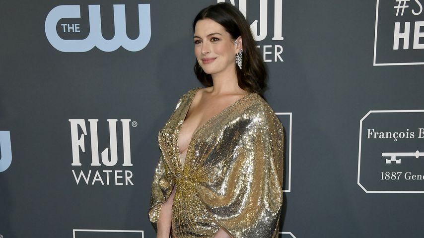 Anne Hathaway bei den Critics' Choice Awards 2020