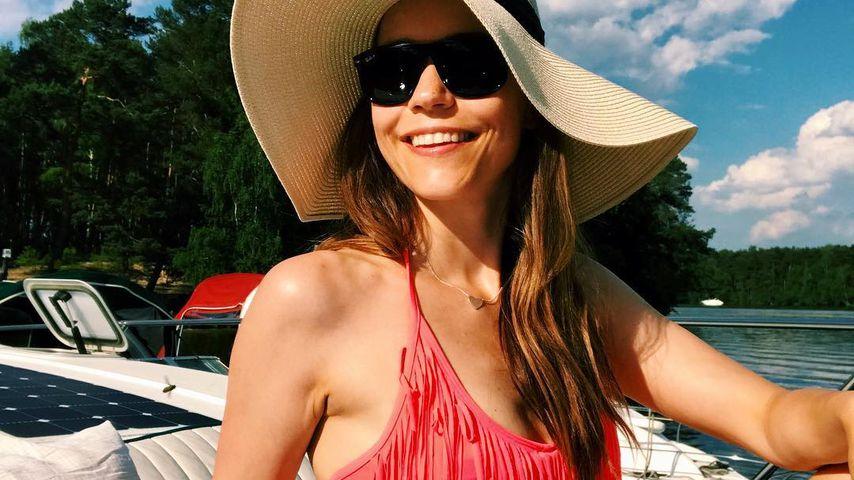 Knapp ein Jahr nach Geburt: Annett Möller megaheiß im Bikini