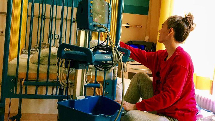 An Silvester: Annett Möllers Tochter liegt im Krankenhaus
