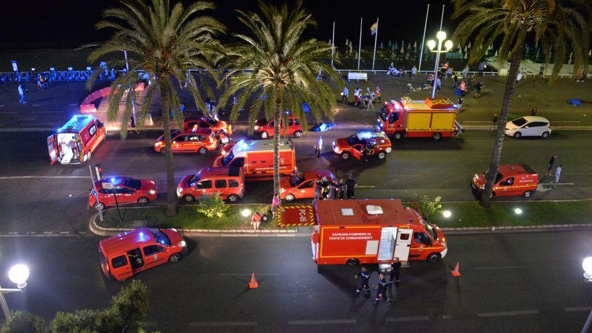 Anschlag am Nationalfeiertag - Auf der Promenade des Anglais in Nizza