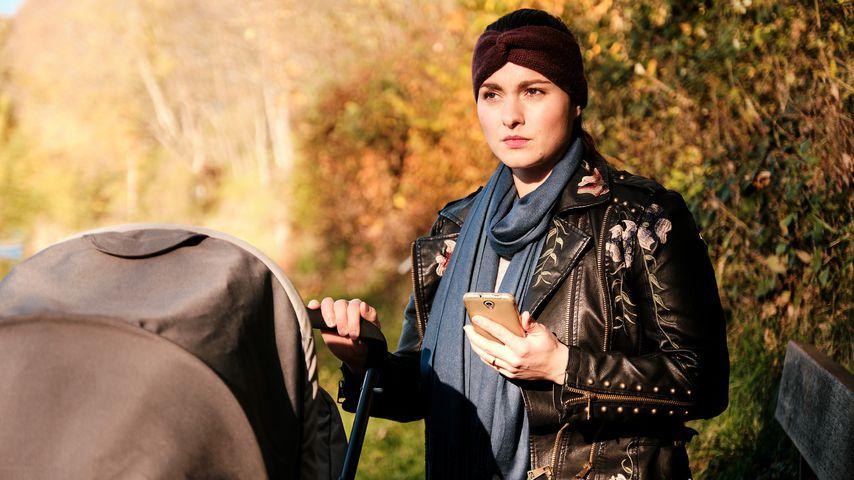 "Antonia Michalsky als Saskia bei ""Unter uns"""