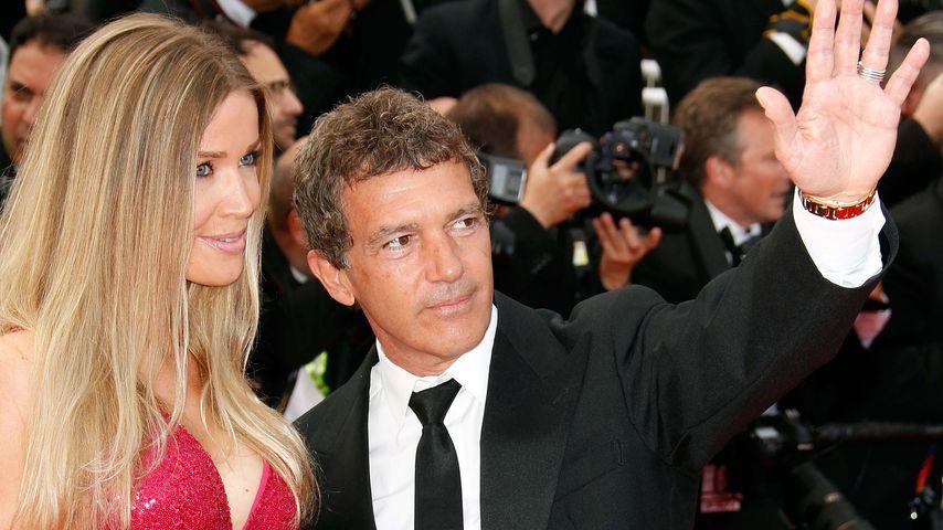 Nicole Kimpel und Antonio Banderas