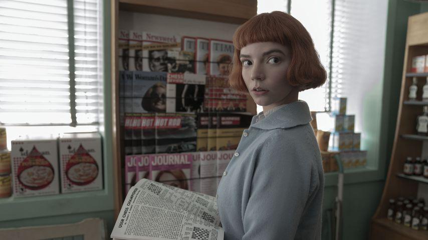 """Anya Taylor-Joy als Beth Harmon in """"Das Damengambit"""""""