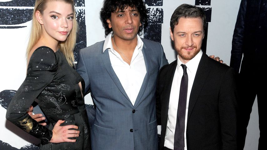 Anya Taylor-Joy, M. Night Shyamalan und James McAvoy