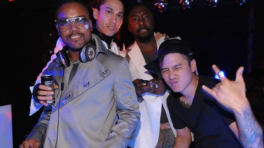 Apl.de.ap, Taboo, Will.i.am und DJ Poet von den Black Eyed Peas im Jahr 2009
