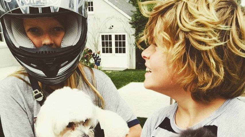 Seltenes Bild! Pic von Gwyneth Paltrows Kids Apple & Moses