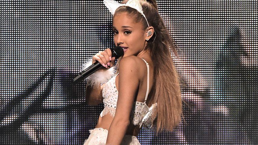 Ungewollt schlüpfrig: Ariana Grande wird intim