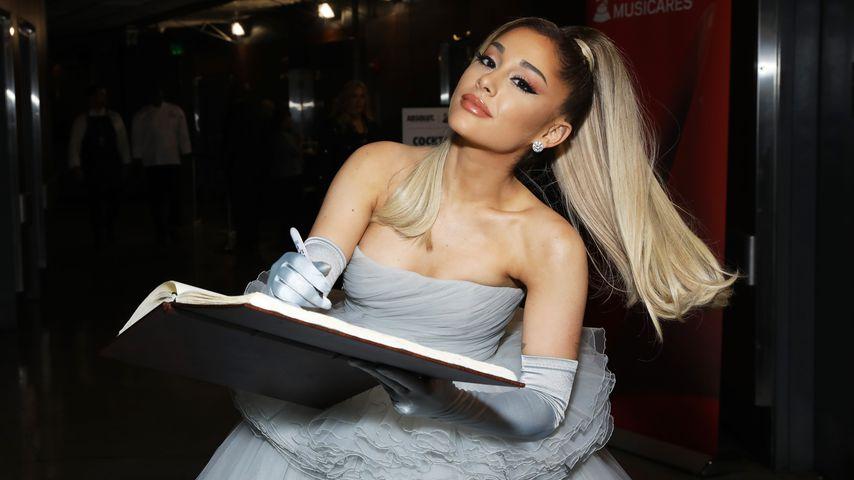 In Quarantäne: Ariana Grande chillt mit ihrem neuen Freund!