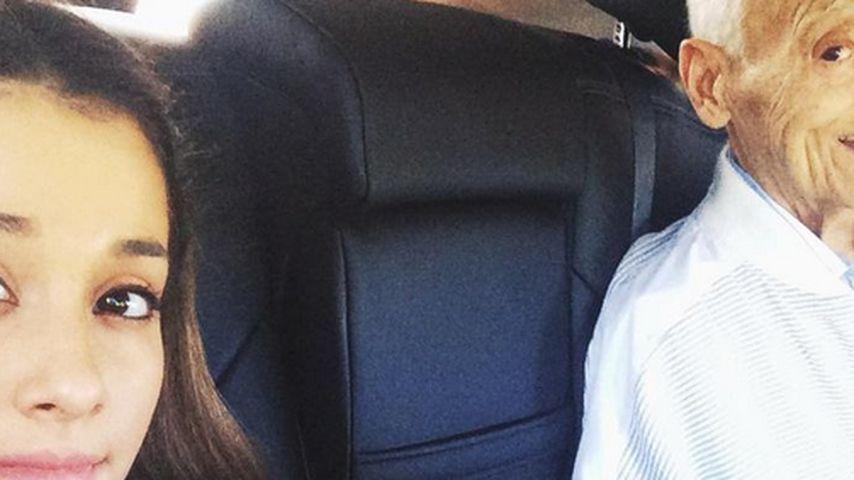 Todesfall: Ariana Grande trauert um ihren Opa