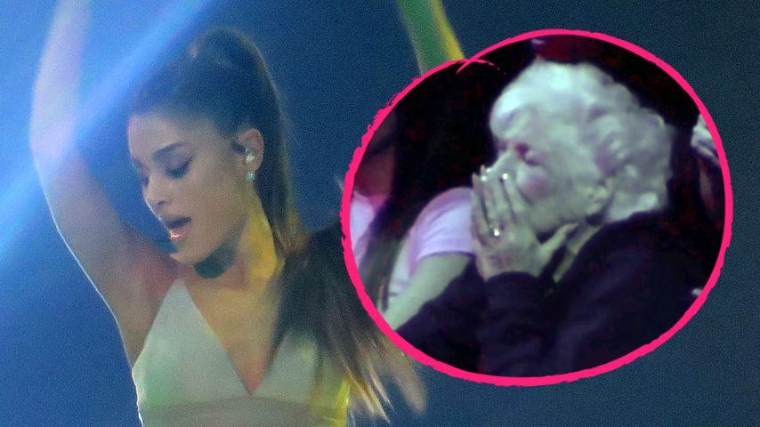 Zu heiße Show von Ariana Grande? Ihre Oma ist geschockt!