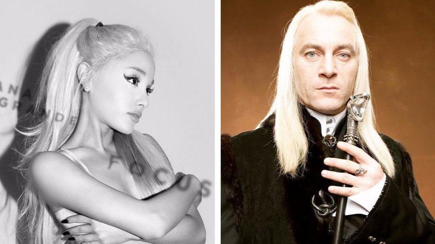 "Ariana Grande: ""Harry Potter""-Malfoy war ihr Haaridol"